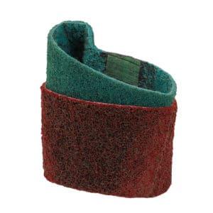 Brusni obroč za odstranjevanje oksidacije in prask na kovini. Primeren tudi za čiščenje in brušenje lesa in trdih plastik.