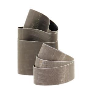 Brusni obroč, za odstranjevanje manjših prask in varov. Zagotavlja visok odjem in gladko površino obdelovanca.