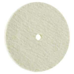 Polirni disk FIX KLETT FILC, iz kakovostnega merino filca za poliranje na visok sijaj.