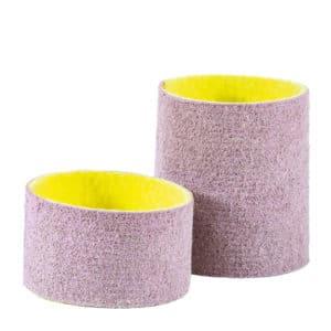 Polirni obroč prepojen s polirno pasto BRIGHTEX, za hitro predpoliranje in poliranje na visok sijaj.