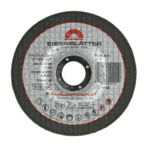 Rezalno brusna plošča Eisenblätter MAGNUM® TWINFLEX®, namenjena izmeničnemu rezanju in brušenju.