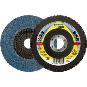 Lamelni brusni disk klingspor smt 644, z enakomernim odjemom. Brez zastekljenosti in mašenja pri brušenju z manj zmogljivimi brusilniki.