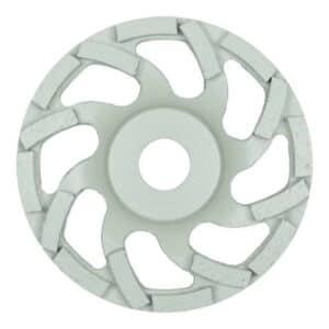 Brusni lonček z izvrstnimi lastnostmi odvajanja prahu, z visoko agresivnostjo in nizkimi vibracijami.