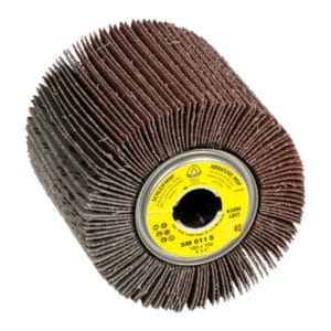 Brusni kolut za fino končno obdelavo lesa, plastike in kovin ter odstranjevanje barve, kita in lakov.