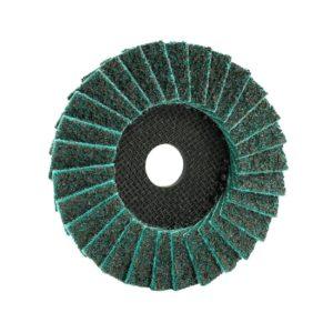 Lamelni brusno polirni disk Eisenblätter TRIMFIX® FLEECE FLAP 1FOR2, primeren za za odstranjevanje varov na ceveh in nerjavečega jekla.