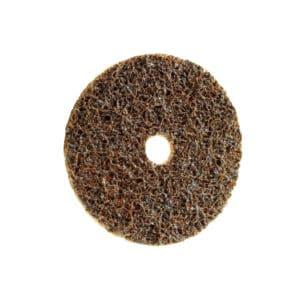 Polirni disk MINI FIX SC FLIS, namenjen odstranjevanju sledi oksidacije na kovinah ter finemu brušenju kovin, lesa in trdih plastik.